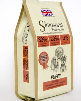 Simpsons Premium Puppy 80/20 Mixed Fish&Chicken